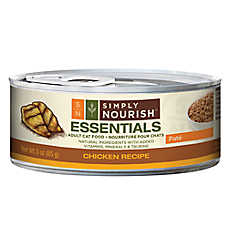 Simply Nourish™ Essentials Adult Cat Food - Natural, Chicken, Pate