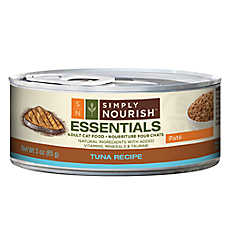 Simply Nourish™ Essentials Adult Cat Food - Natural, Tuna, Pate
