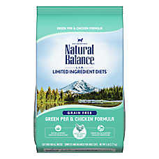 Natural Balance Limited Ingredient Diets Cat Food - Grain Free, Green Pea & Chicken