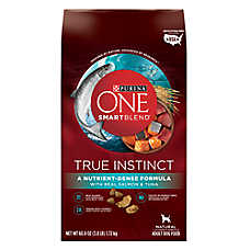 Purina One® Smartblend® True Instinct Salmon & Tuna Adult Dog Food