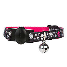 Whisker City™ Paw Print Cat Collar