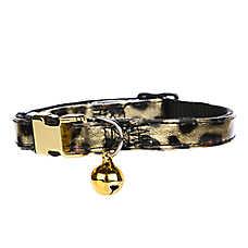 Whisker City™ Leopard Adjustable Cat Collar