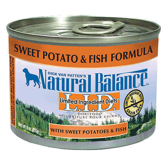 Natural Balance Sweet Potato And Fish Canned Dog Food
