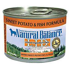 Natural Balance Limited Ingredient Diets Dog Food - Grain Free, Sweet Potato & Fish
