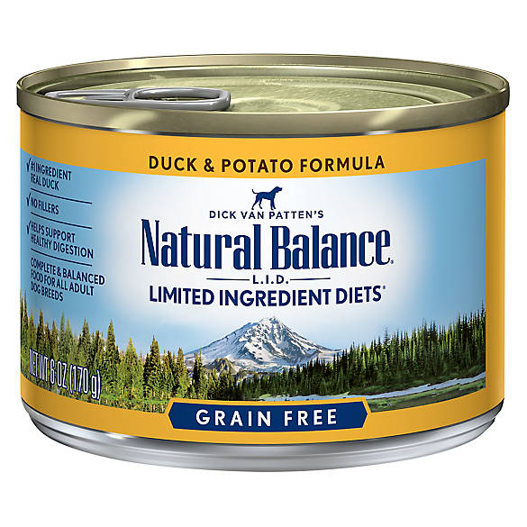 Natural Balance Grain Free Canned Dog Food