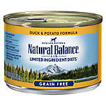 Natural Balance Limited Ingredient Diets Dog Food - Grain Free, Duck & Potato