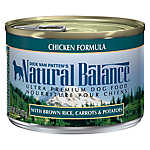 Natural Balance Ultra Premium Dog Food - Chicken