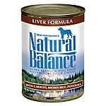 Natural Balance Ultra Premium Dog Food - Liver