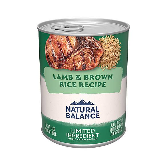 Natural Balance Canned Food Petsmart