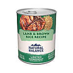 Natural Balance Limited Ingredient Diets Dog Food - Lamb & Brown Rice