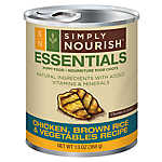 Simply Nourish™ Essentials Puppy Food - Natural, Chicken, Brown Rice & Vegetables