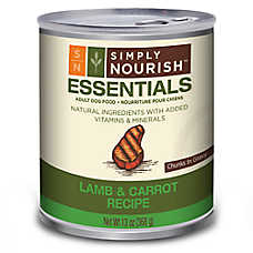 Simply Nourish™ Essentials Adult Dog Food - Natural, Lamb & Carrot