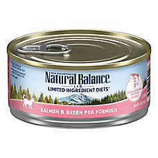 Natural Balance Limited Ingredient Diets Cat Food - Grain Free, Salmon & Green Pea