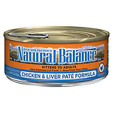 Natural Balance Ultra Premium Cat Food - Chicken & Liver, Pate