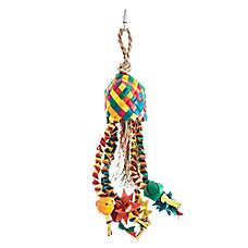 HARI® Rustic Treasures Star Basket Bird Toy