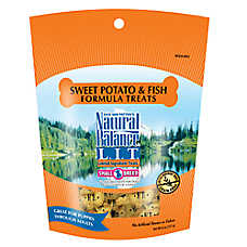 Natural Balance Limited Ingredient Grain Free Sweet Potato & Fish Small Breed Dog Treat
