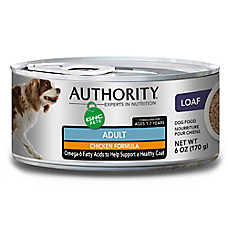 Authority® GNC Pets Adult Dog Food - Chicken
