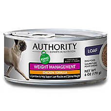 Authority® GNC Pets Adult Dog Food - Chicken, Weight Management