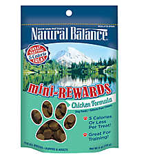 Natural Balance Mini-Rewards Chicken Training Dog Treat