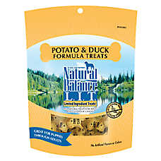Natural Balance Limited Ingredient Grain Free Potato & Duck Dog Treat