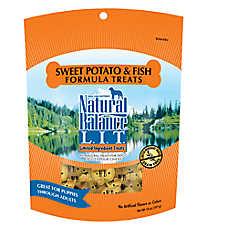Natural Balance Limited Ingredient Grain Free Sweet Potato & Fish Dog Treat