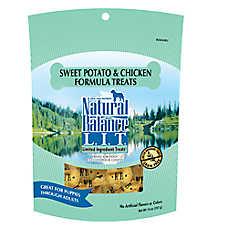 Natural Balance Limited Ingredient Grain Free Sweet Potato & Chicken Dog Treat