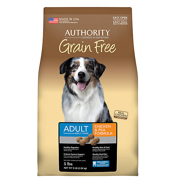 Authority Dry Dog Food Ratings