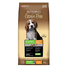 Authority® Grain Free Puppy Food - Chicken & Pea