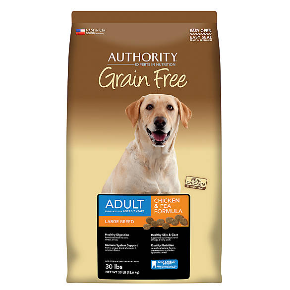 Authority Grain Free Dog Food Dry