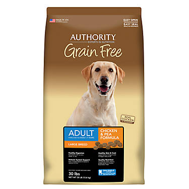 Authority Grain Free Dog Food Chicken