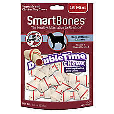 SmartBones® Double Time Chews Chicken Mini Dog Treat