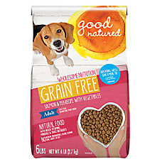 Good Natured™ Adult Dog Food - Grain Free, Natural, Salmon & Peas