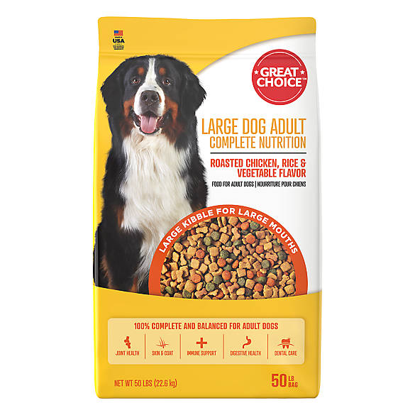 Grreat Choice Large Breed Dog Food