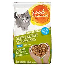 Good Natured™ Kitten Food - Natural, Chicken & Egg