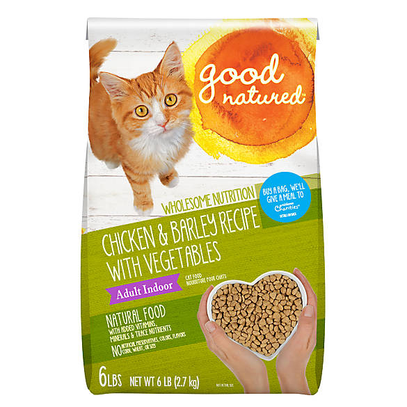 Good Natured Food Cat