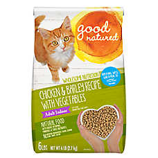 Good Natured™ Adult Indoor Cat Food - Natural, Chicken & Barley