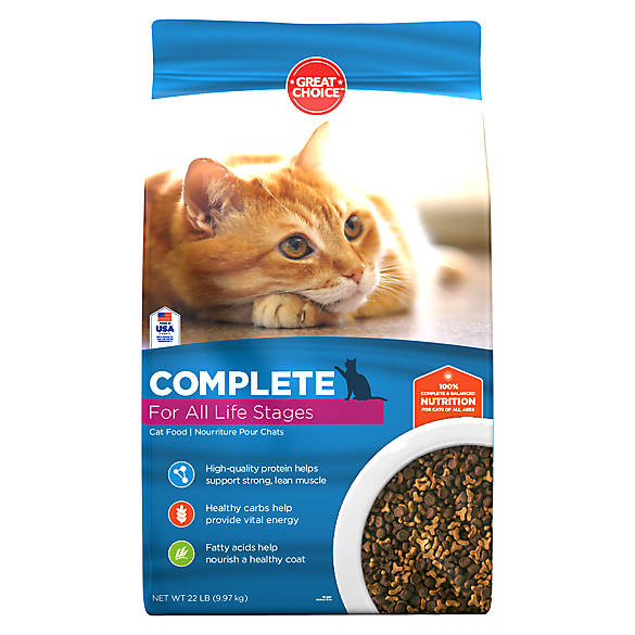 Grreat Choice Complete Formula Cat Food
