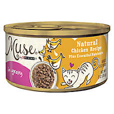 Muse® Adult Cat Food - Essential Nutrients, Natural Chicken, In Gravy