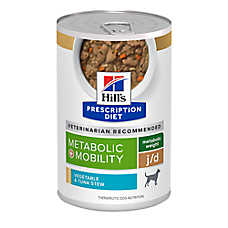 Hill's® Prescription Diet® Metabolic + Mobility Dog Food - Vegetable & Tuna Stew
