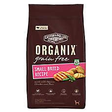 Castor & Pollux ORGANIX® Adult Dog Food - Grain Free, Organic, Chicken & Peas, Small Breed