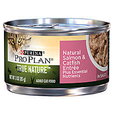 Purina® Pro Plan® TRUE NATURE™ Adult Cat Food - Natural, Essential Nutrients, Salmon & Catfish