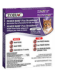 ZODIAC® Power Band® Plus BreakAway Flea & Tick Cat Collar