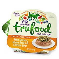 Wellness® TruFood® Tasty Pairings Dog Food - Natural, Grain Free, Chicken & Green Beans