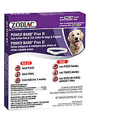 ZODIAC® Power Band® Plus II Flea & Tick Dog Collar