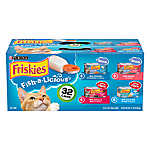 Purina® Friskies® Cat Food - Fish-A-Licious, Variety Pack, 32ct