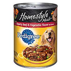 PEDIGREE® Homestyle Meals Adult Dog Food - Beef & Vegetable