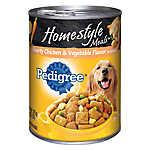 PEDIGREE® Homestyle Meals Adult Dog Food - Chicken & Vegetable