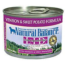 Natural Balance Limited Ingredient Diets Dog Food - Grain Free, Venison & Sweet Potato