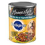 PEDIGREE® Homestyle Meals Adult Dog Food - Prime Rib, Rice & Vegetable