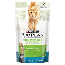 Purina® Pro Plan® Indoor Crunch Reduced Calorie Tuna Cat Snacks